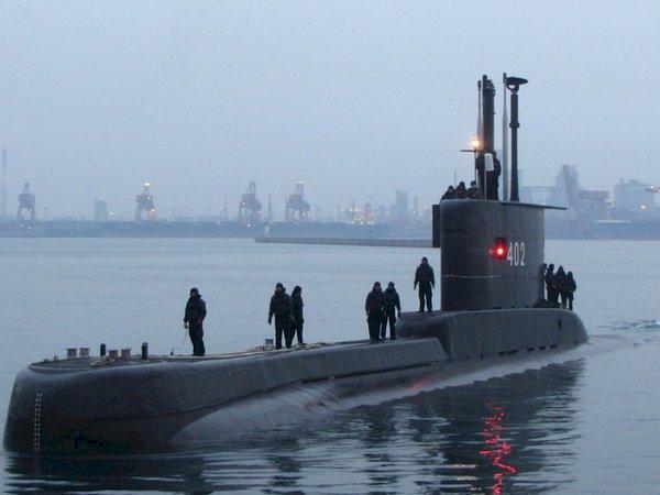 印尼搜尋失聯潛艦 艦上搭載53人