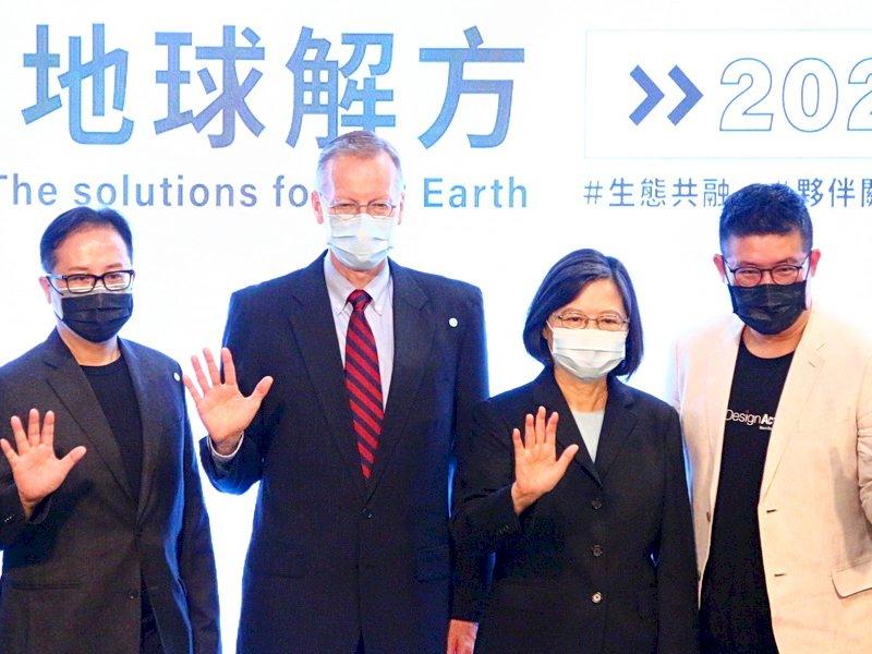 世界地球日共促永續 總統:國際合作創造多贏 (影音)
