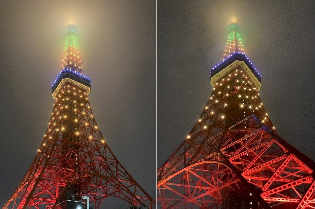 日本無處不台灣!東京鐵塔變身鳳梨 身障童吃金鑽 日媒讚:台日甜美的羈絆