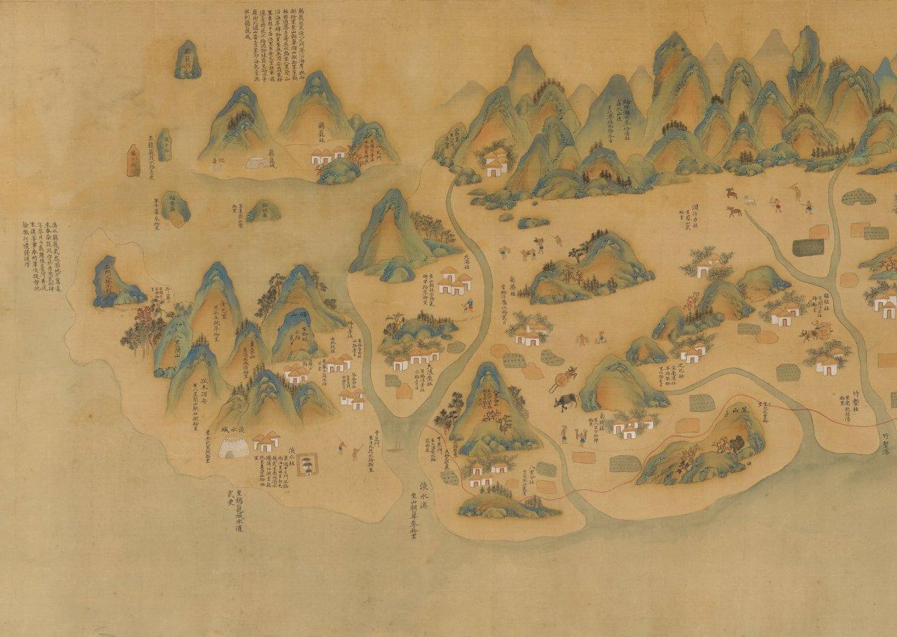 故宮推「說•古地圖」特展  訴說時代故事