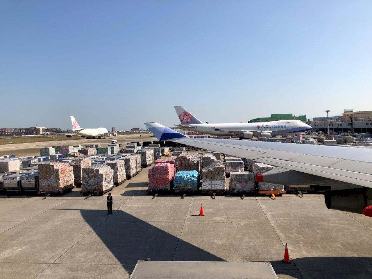 疫情下受益者   桃機國際貨運表現躍升全球第4大繁忙機場