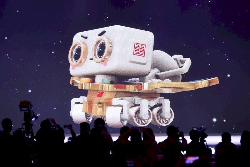 中國首輛火星車命名「祝融號」
