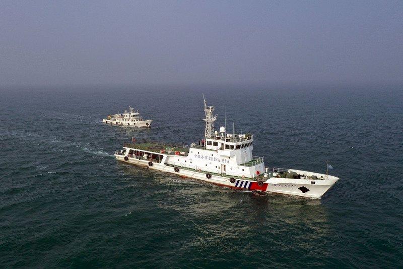 日防衛大臣指侵略後 中國再派海警船巡航釣魚台