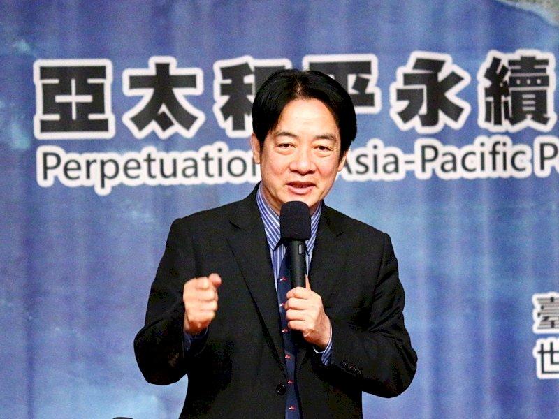 海內外台灣國是會議 副總統:台灣前途只有台灣人有權決定