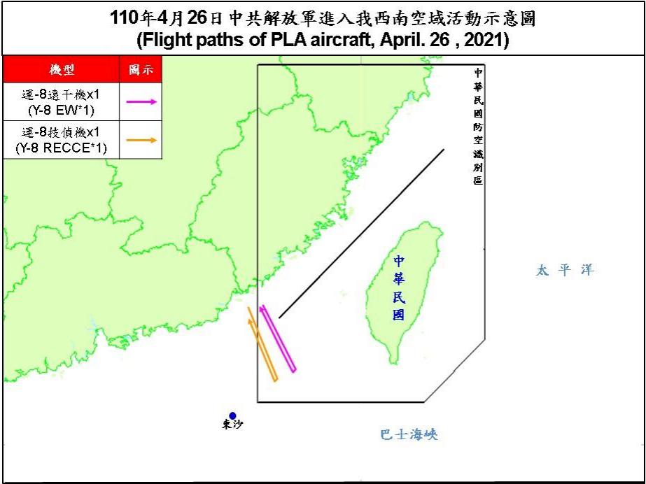 中國軍機低空擾台 澳學者:印太區進入挑戰時期