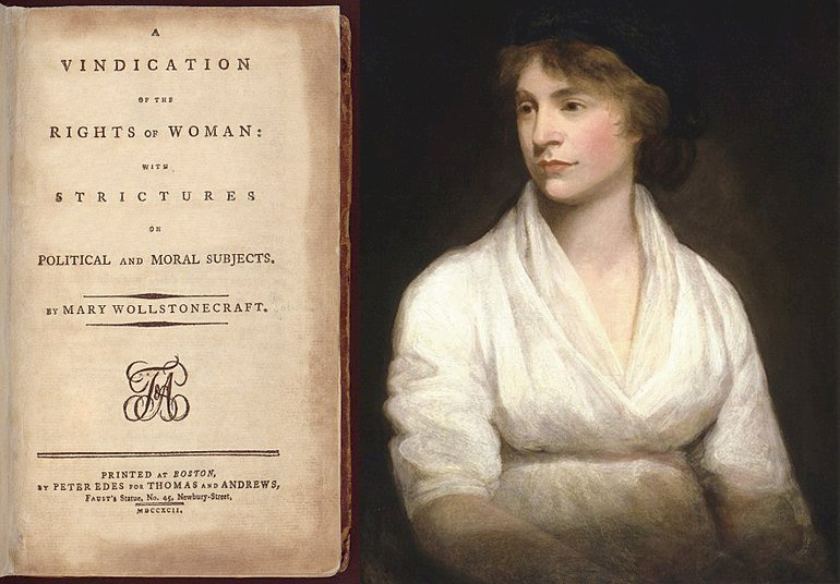 為女權辯護!瑪麗.沃斯通克拉夫特的女權思想、實踐和影響