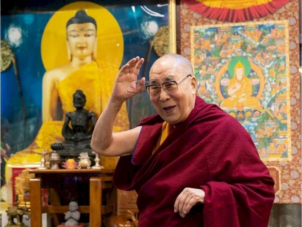 達賴喇嘛接種第二劑新冠疫苗 捐款助印度抗疫