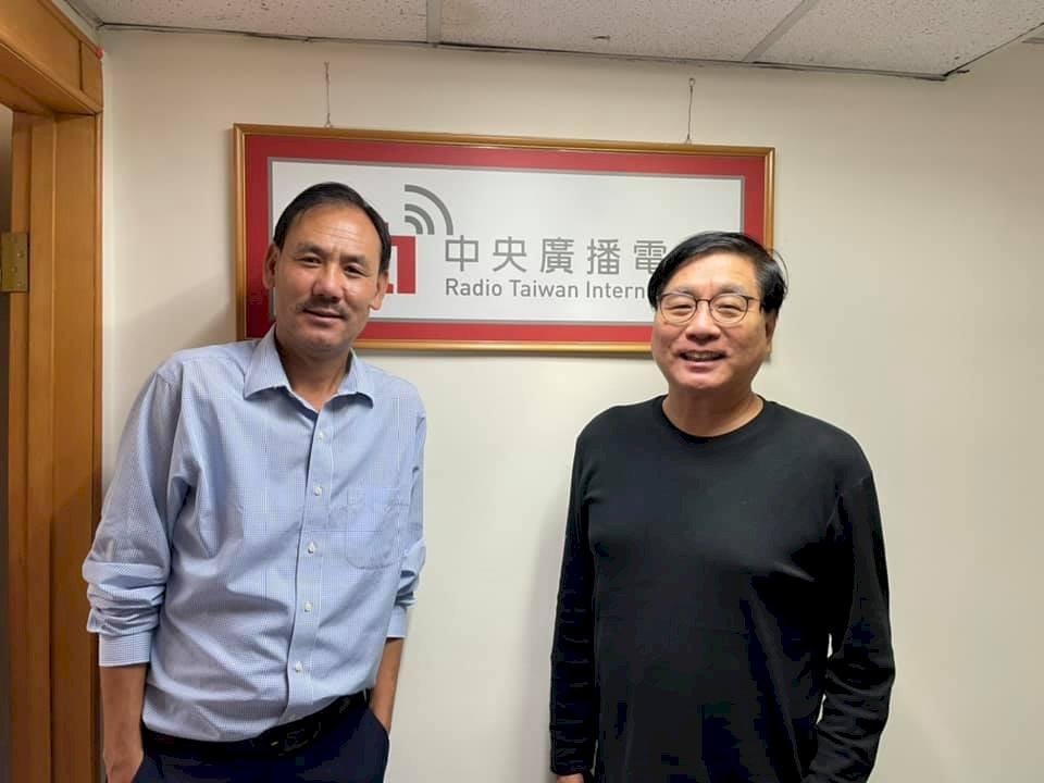 藏人行政中央駐臺代表巴瓦·格桑堅參先生履新