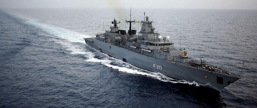德將派軍艦赴亞洲避開台海 議員批對中磕頭
