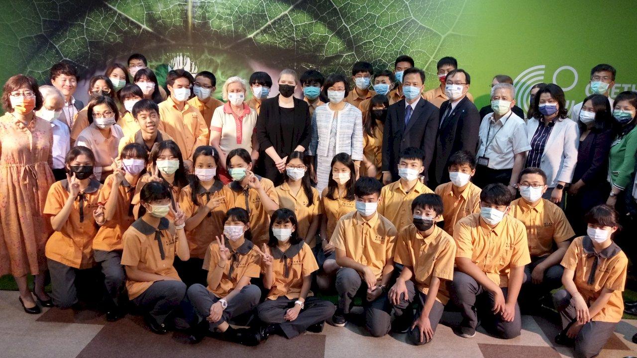 歌德學院全球巡迴展到台灣 「向大自然學習」還能學德語