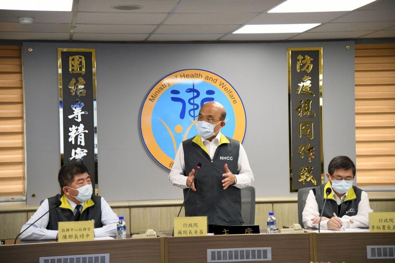 諾富特飯店群聚 蘇貞昌:防疫可以更好 大家應提高警覺