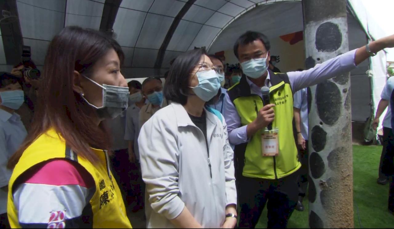 蔡總統:防疫牛結節疹不能鬆懈 守護牛隻酪農