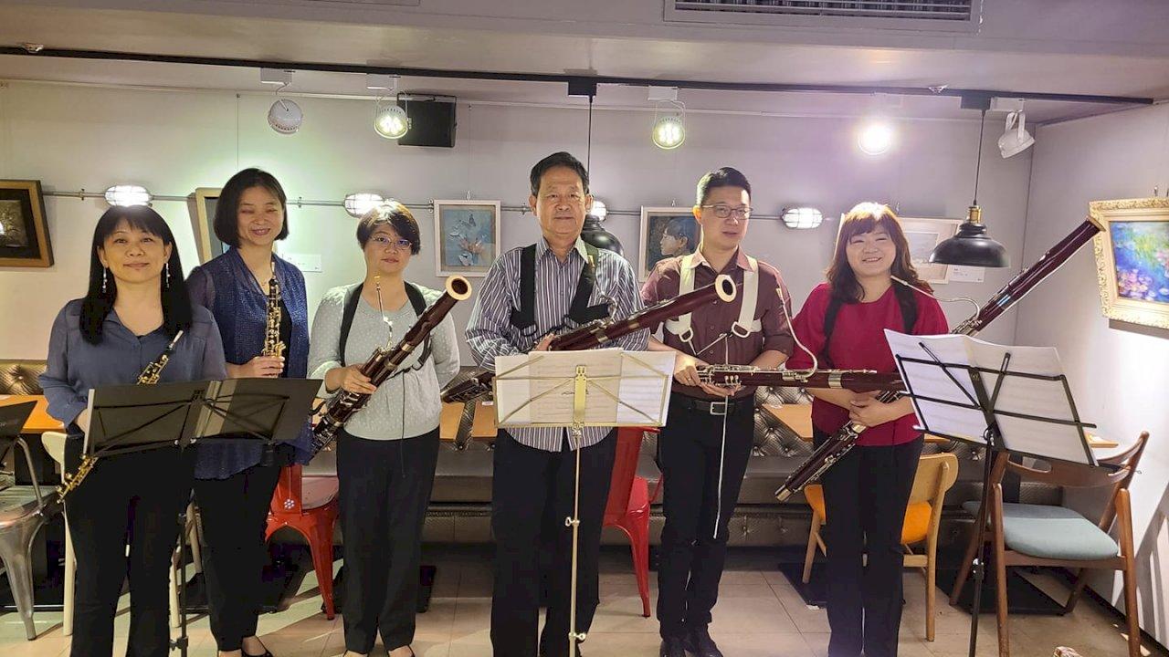 徐家駒辦雙簧家族夏令營  盼吸引更多愛好者進入低音管、雙簧管世界