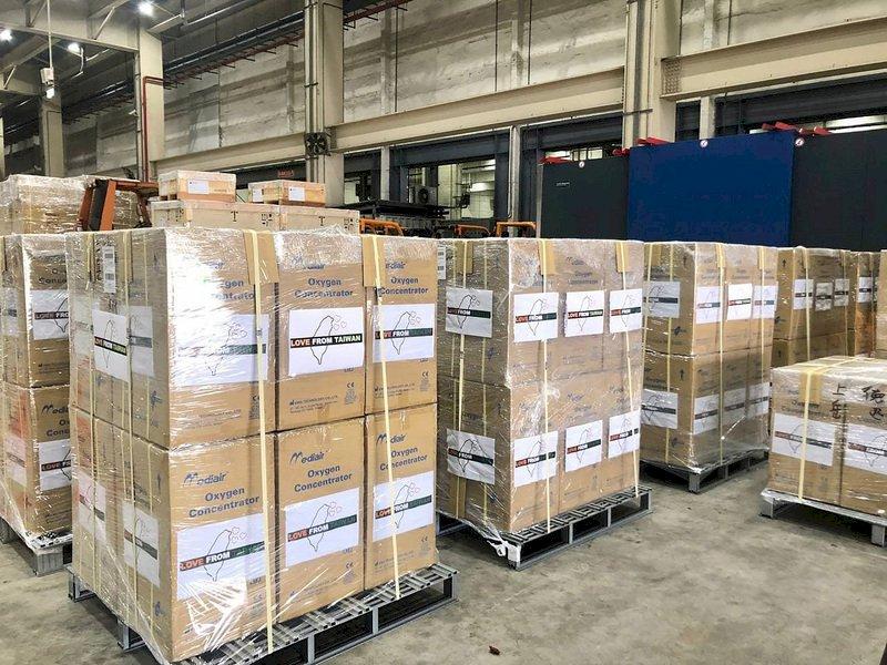 台灣可以幫忙 上千台製氧機陸續援助印度