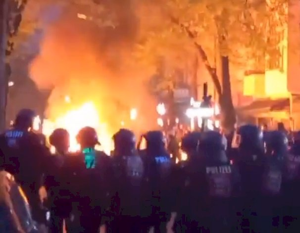 柏林五一勞動節警民衝突 警方:暴力令人無法接受