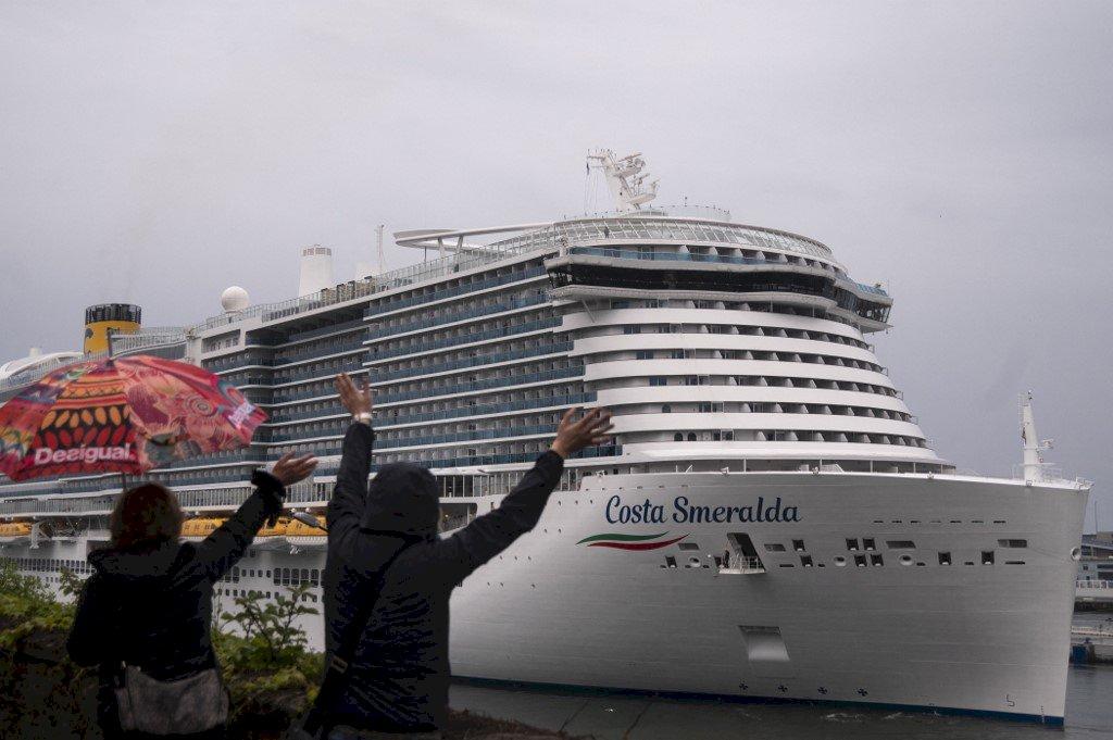 因疫情停駛4個多月 義大利歌詩達郵輪復航
