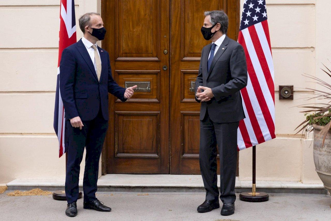 美英外交首長相見歡 布林肯重申無意壓制中國