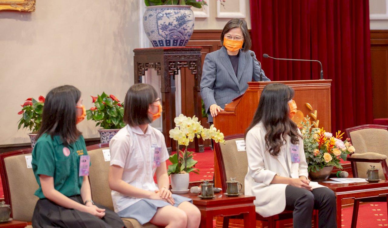 總統:打造世界信賴的資安系統及產業鏈 是台灣最重要優勢