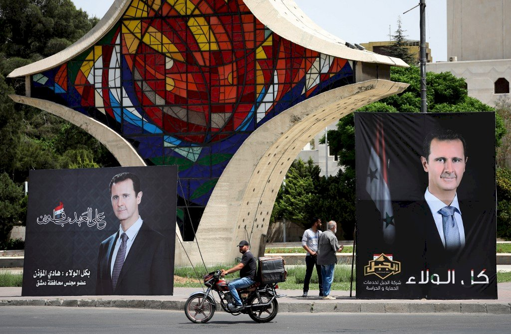 敘利亞26日總統大選 阿塞德有兩名「對手」