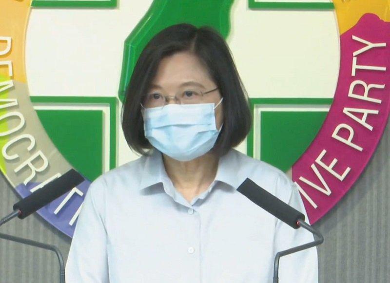 蔡總統:台灣人有無自我防衛決心是赫阻中共冒進的關鍵