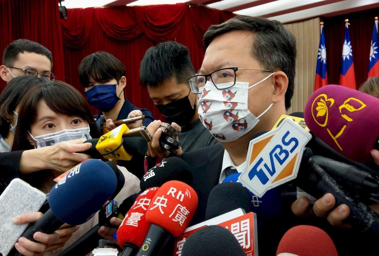 鄭文燦:諾富特一館未申請防疫旅館 涉違規將裁罰
