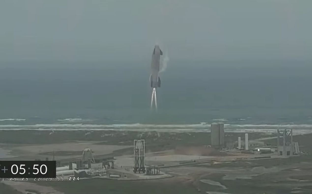 一掃前恥  SpaceX火箭第5度測試成功落地