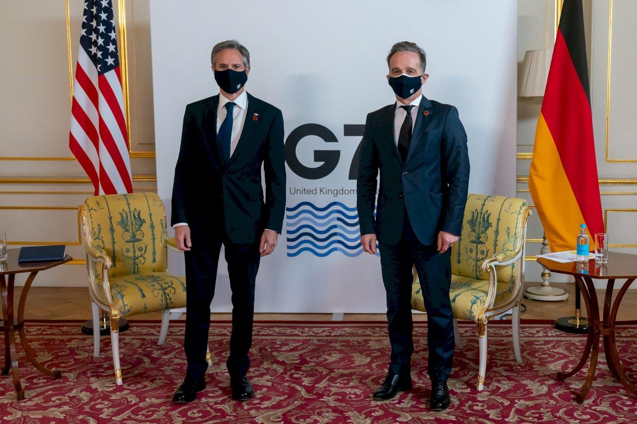 德國外長:自由民主國家在G7聯手對抗獨裁
