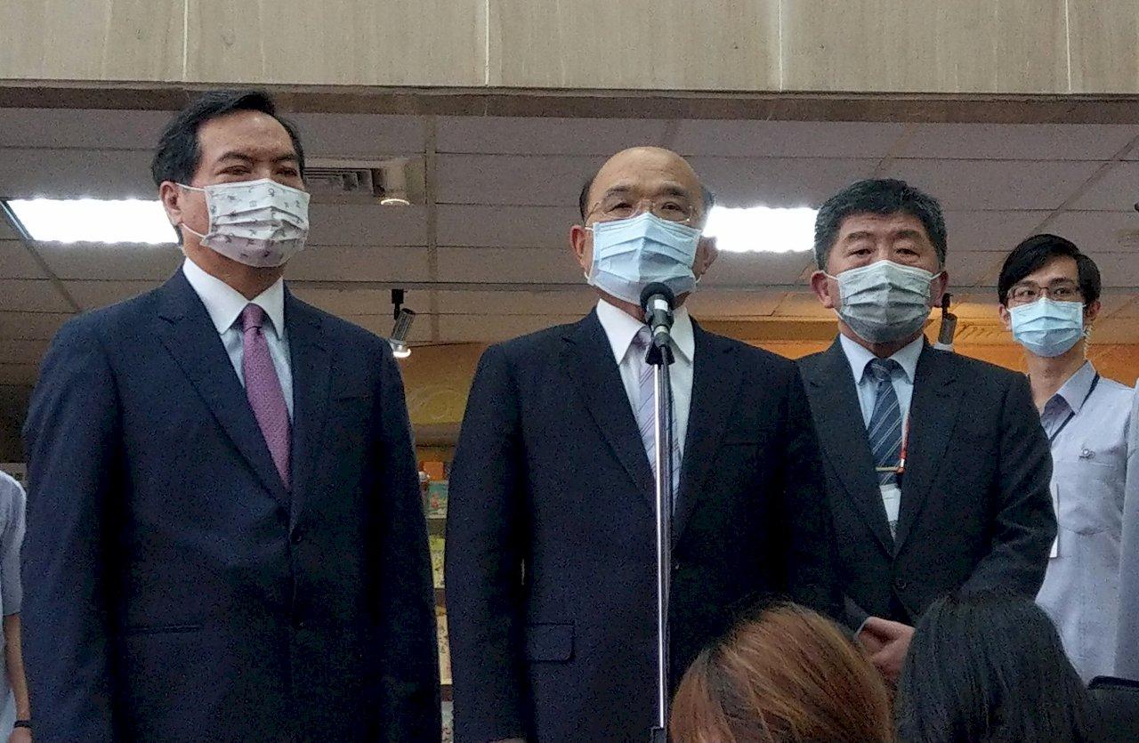 法國通過挺台議案 蘇貞昌盼讓台灣做出貢獻