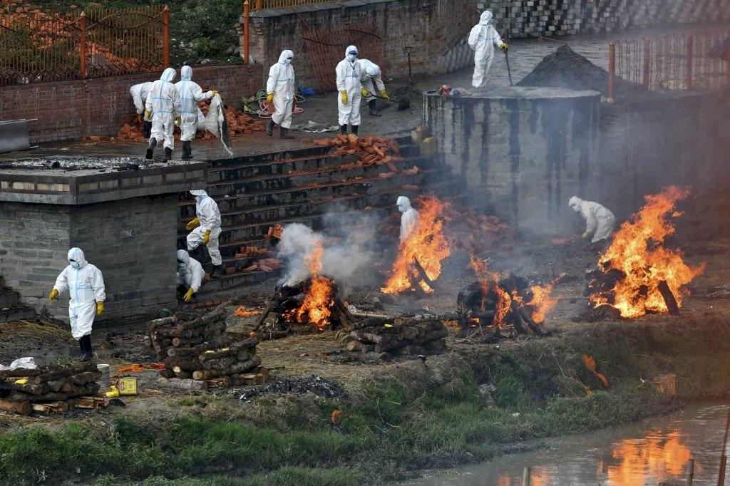 印度疫情越界擴散 尼泊爾確診病例激增