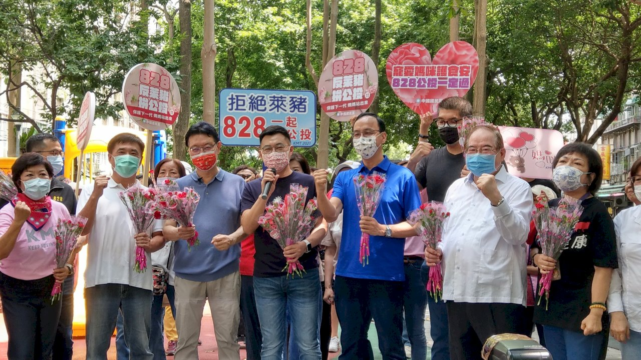 22縣市同步辦活動宣傳兩大公投案 國民黨強力催票