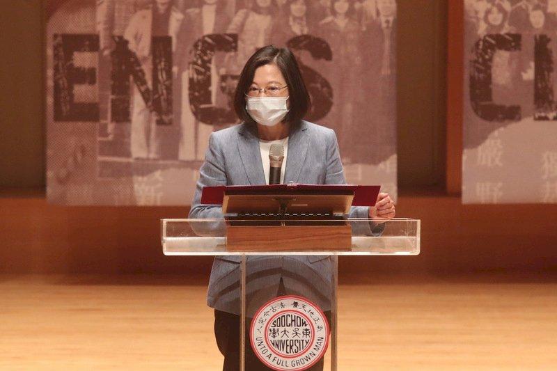 紀念傅正逝世30週年 總統:政府會堅持價值、團結台灣
