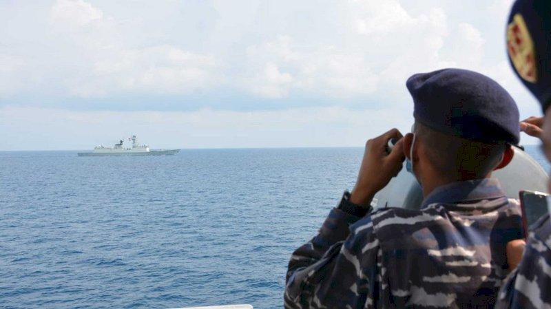 中國與印尼聯合海上軍演 澳媒:兩國關係拉近