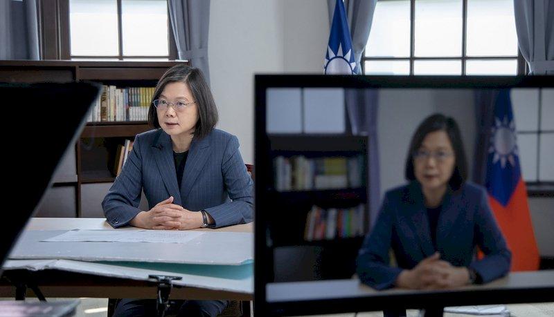 蔡總統哥本哈根峰會演說 中方批「台獨頭目」