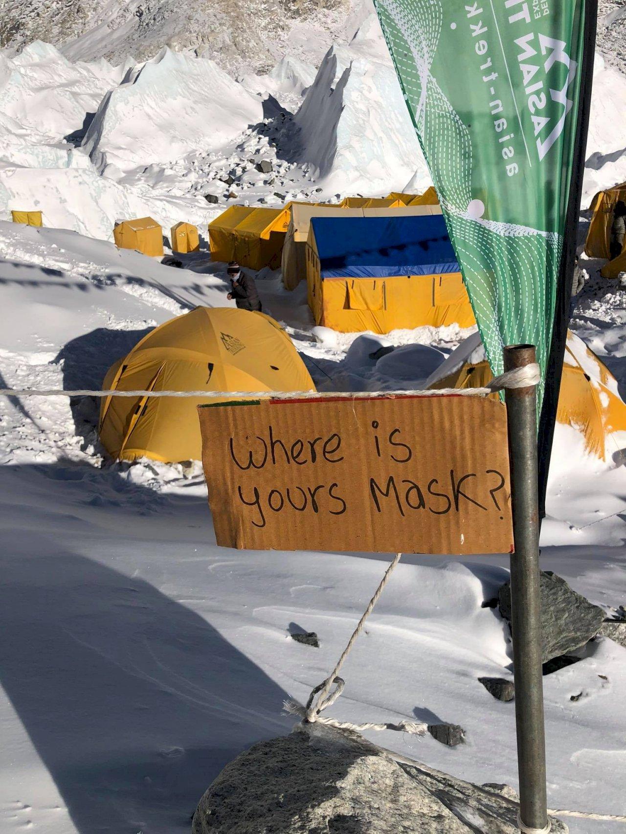 地表最高點也要防疫!防病毒入侵 中國將在聖母峰設南北隔離線