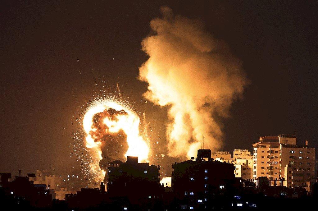 以巴衝突加劇 以色列空襲加薩釀至少20死
