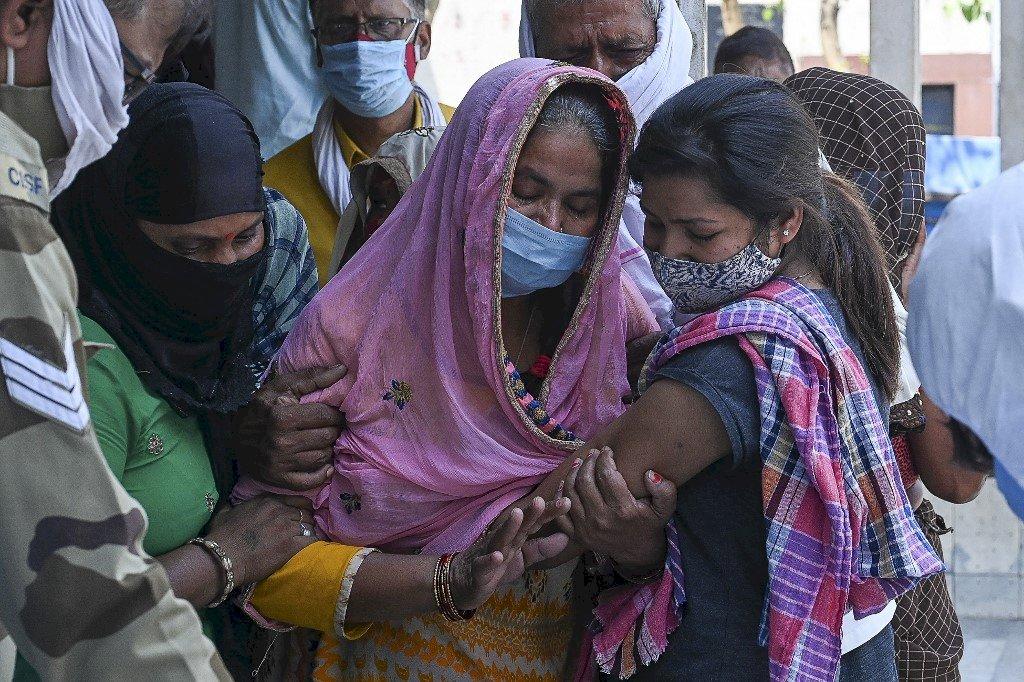 印度疫情趨緩 新德里市長宣布逐步解封