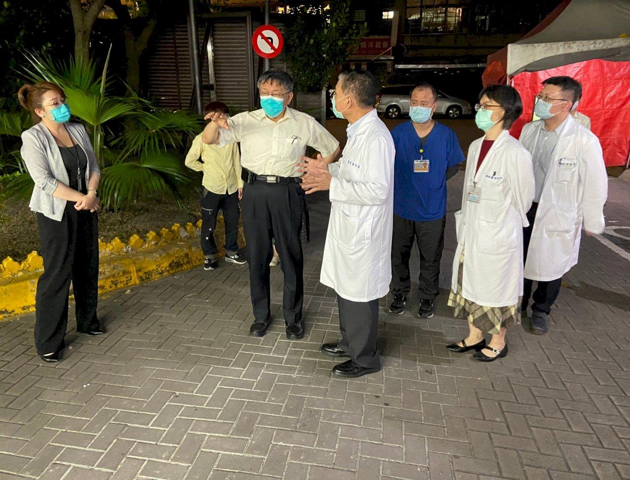 和平醫院2病患確診 北市府:狀況控制中 目前無封院危險