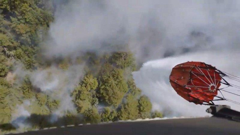 玉山林班大火燒60小時  受災面積增至37公頃