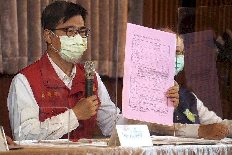 防疫情擴散 陳其邁:民眾若不戴口罩 將立即開罰
