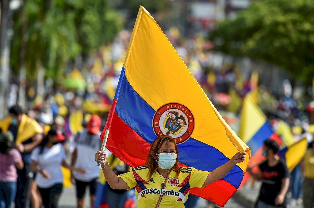 哥倫比亞反政府示威 警察暴力致數十人喪命