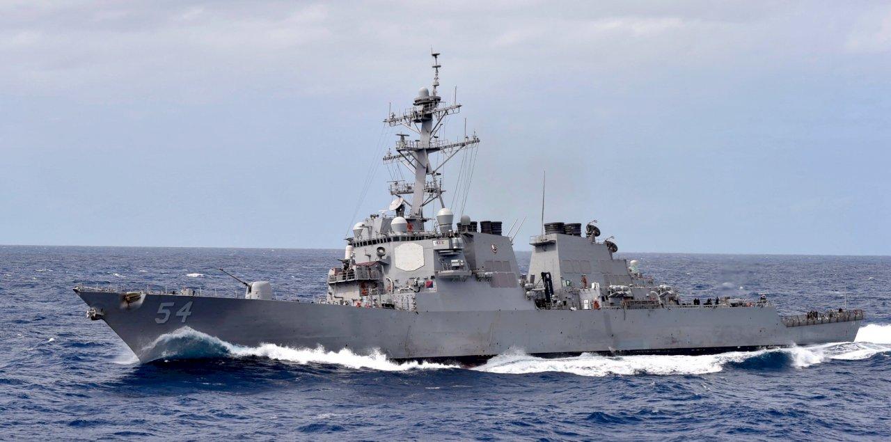 美艦行經南海 中國:美國是安全風險製造者