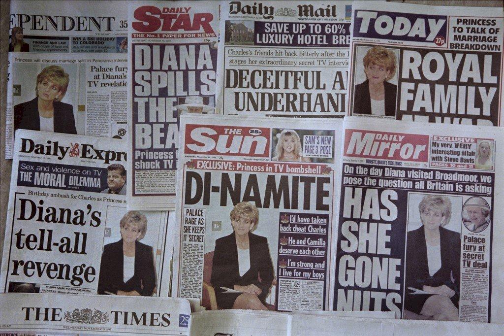BBC欺騙方式獲得黛安娜王妃專訪  威廉、哈利王子發聲譴責