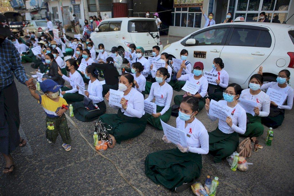 緬甸軍事政變滿半年前夕 國際特赦組織呼籲東協落實五點共識