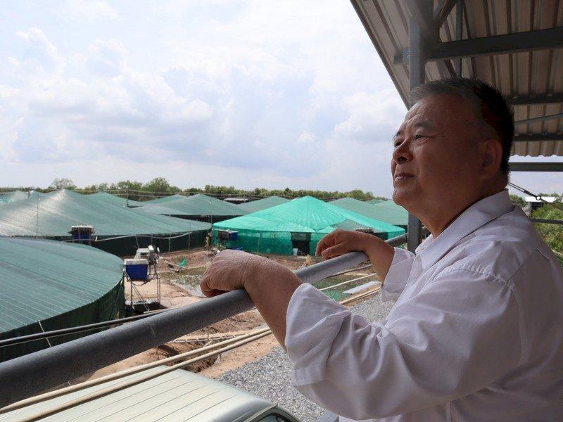 台商陳信銘在越南「蝦搞」  靠想像力闖出一片天