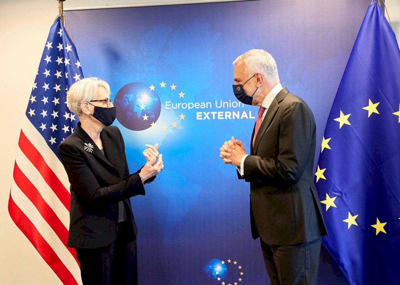 歐盟美國外交高層會談 支持台灣參與國際組織