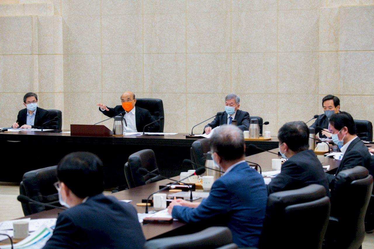 境外資金匯回逾期3千億 蘇貞昌:穩定經濟成長重要因素