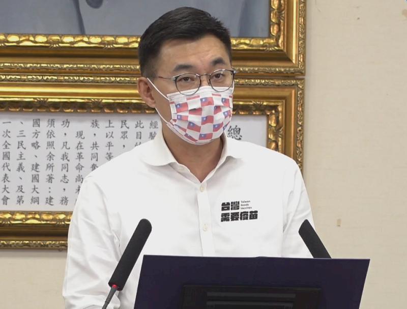 若無法及時取得足夠疫苗 江啟臣:台灣恐成防疫孤島