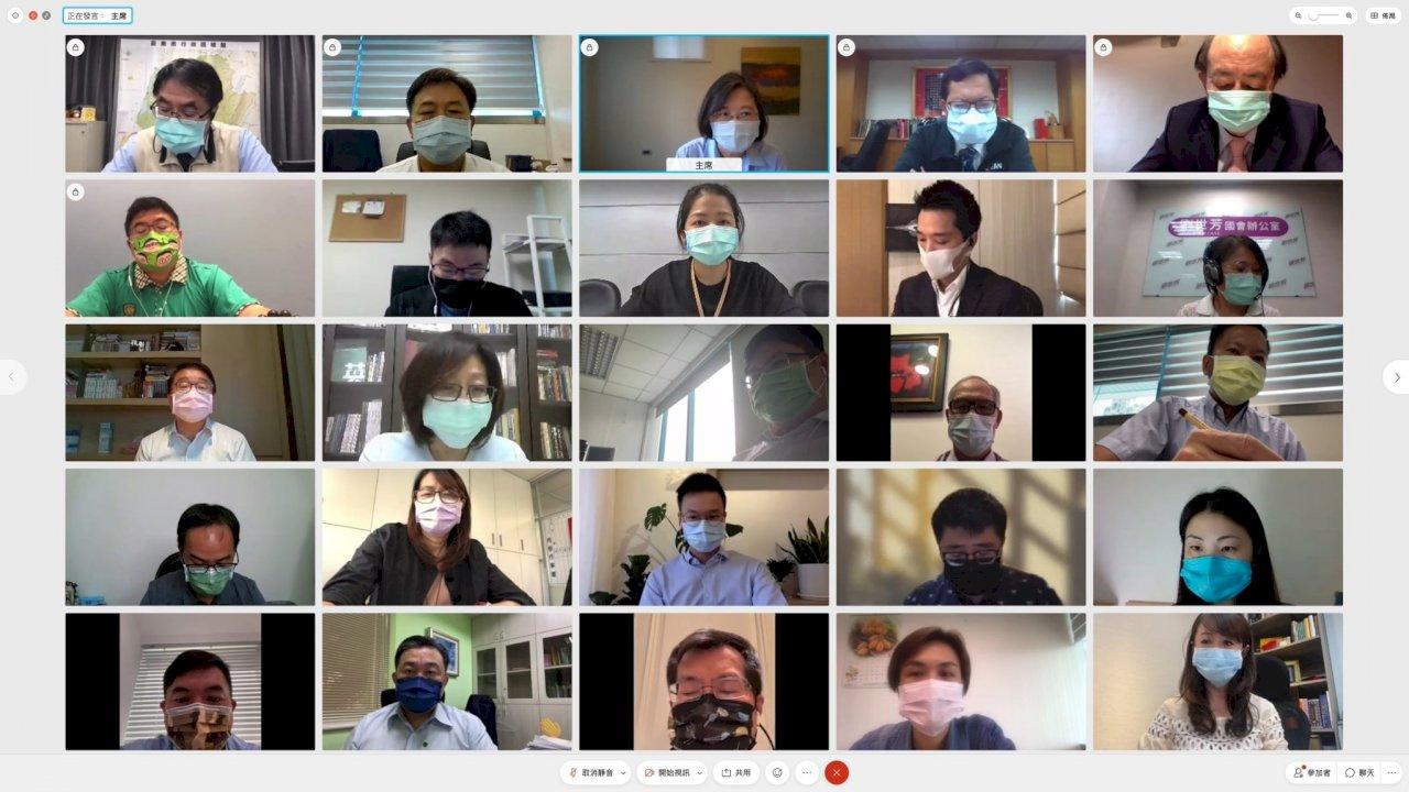 疫情升溫引發社會焦慮 蔡總統:政府會全力守住這波疫情