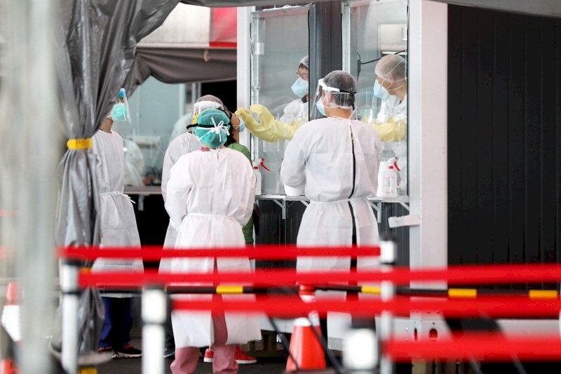 烟花進逼 新北多數社區篩檢站正常服務 疫苗接種作業照常