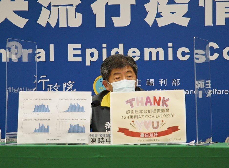 感謝日贈124萬劑疫苗  陳時中:長照機構與75歲以上長者將納優先接種